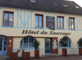 Hôtel du Sauvage, La Ferté-Gaucher (рядом с городом Villeneuve-la-Lionne)