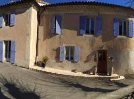 Chez Clovis, Saint-Fortunat-sur-Eyrieux (рядом с городом Bosveuil)