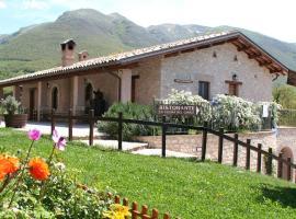 Agriturismo Casale Nel Parco Dei Monti Sibillini, Norcia (Vallinfante yakınında)