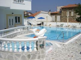 Apartments Zafiria, Агиос-Константинос (рядом с городом Kámpos)