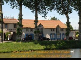 Hôtel Les Pages, Lunéville (рядом с городом Dombasle-sur-Meurthe)