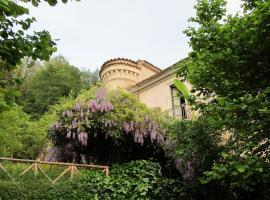 Palazzo Gallotti, Battaglia (Tortorella yakınında)