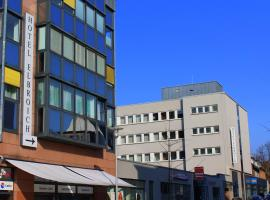 Hotel Elbroich, Düsseldorf (Rheinufer yakınında)