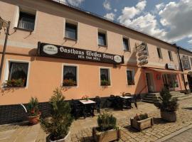 Hotel Weisses Kreuz, Waidhaus (Svatá Kateřina yakınında)