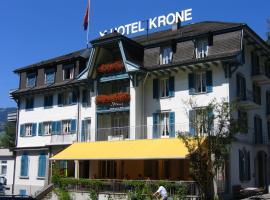 Kultur-Hotel Krone Giswil, Giswil (Bürglen yakınında)