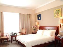 GreenTree Inn Hebei Cangzhou Bohai New District Huanghua Port Express Hotel, Langtuozi (Mashanzi yakınında)