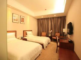 GreenTree Inn ShanXi LuLiang FengShan Road Central Park Express Hotel, Luliang (Zhongzhuang yakınında)