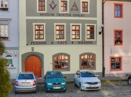Pension Masonic House, Loket (Nadlesí yakınında)