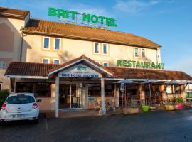 Brit Hotel Agen - L'Aquitaine, Ле-Пассаж (рядом с городом Moirax)
