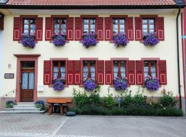 Haus am Bühl, Schönau im Schwarzwald (Neuenweg yakınında)