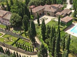 Villa Barberino, Meleto