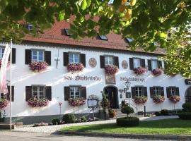 Gutshofhotel Winkler Bräu, Lengenfeld (Oberwiesenacker yakınında)