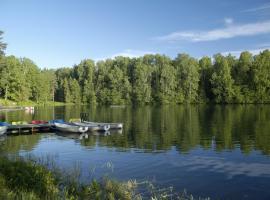Nelijärve Holiday Centre, Aegviidu (Mägede yakınında)