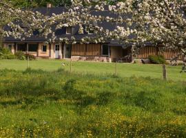 Le lit de la Saâne - Maison d'hôtes de l'étang, Auzouville-sur-Saâne (рядом с городом Berville)