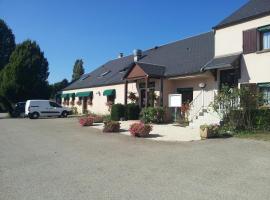 Hotel de l'Abbaye, Ferrières (рядом с городом Bazoches-sur-le-Betz)