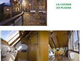 Apartmento La Lucana Ordesa, Laspuña (Escalona yakınında)