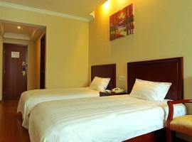 GreenTree Inn JiangSu YangZhou West Hub Bus Station Express Hotel, Yangzhou (Yinjiahu yakınında)