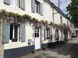 Holiday home 13 rue Jean Martin, Guéméné-sur-Scorff (рядом с городом Locmalo)
