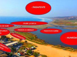Excelente Vista al Mar 214, Concón (Las Ramaditas yakınında)