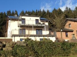 Apartment Eifelblick, Weinsheim (Fleringen yakınında)