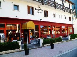 Hotel les Clarines, Ла-Лешер (рядом с городом Doucy)