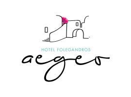 Aegeo Hotel, Chora Folegandros