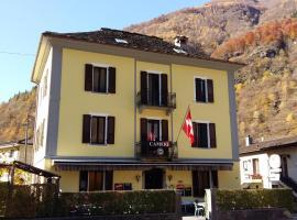 Castello Osteria & Pizzeria, Cevio (Linescio yakınında)