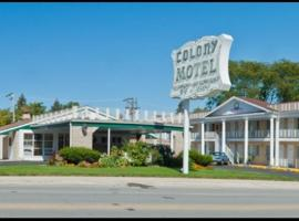 Colony Motel 2 Stars Brookfield
