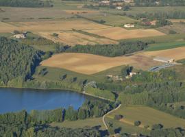 Gite au Lac du Gouyre, Puygaillard-de-Quercy (рядом с городом Vaissac)