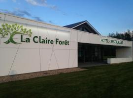 Hotel - Restaurant La Claire Forêt