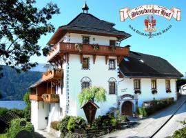 Staudacher Hof-Das Romantische Haus, Мильстат