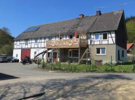 Haus am Wilde Aar, Medebach (Titmaringhausen yakınında)