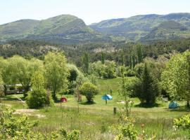 Camping des Catoyes, Orpierre