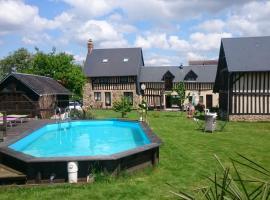 La Gerbaudiere Chambres & Tables d'Hôtes, Notre-Dame-du-Touchet (рядом с городом Villechien)