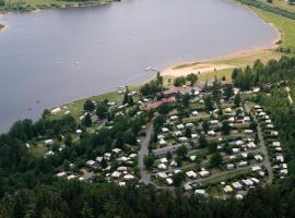 Ferienpark Perlsee Ferienhäuser, Camping, Mobilheime, Waldmünchen (Pivoň yakınında)