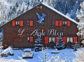 Chambres d'hôtes Chalet l'Aigle Bleu, Pra-Loup