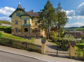 Vila Heide, Česká Kamenice (Líska yakınında)