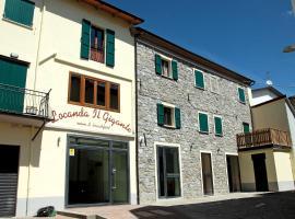Locanda Il Gigante, Collagna (Succiso Superiore yakınında)