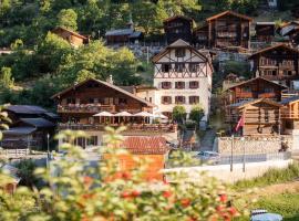 Hotel Nest- und Bietschhorn, Blatten im Lötschental (Wiler yakınında)