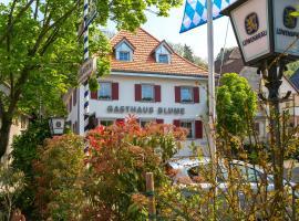 Gasthaus zur Blume, Kleinkems