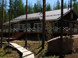 Ruokolahti Cottages, Tuomala (рядом с городом Hauklappi)