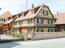 Les Gîtes de l'Orchidée du Ried, Бальденхейм (рядом с городом Muttersholtz)