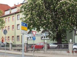 Hotel Pension zur Tanne, Zwickau (Fraureuth yakınında)