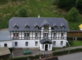 Penzion Falkenštejn, Jetřichovice (Vysoká Lípa yakınında)
