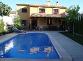 Casa rural Villa Parchis, Motilleja (рядом с городом Tarazona de la Mancha)