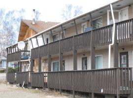 Angells Marina Motel Suites Cabins and Outfitters, Denare Beach (Schist Lake yakınında)