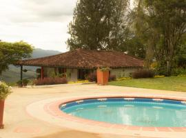 Cabaña Villa Maria, Valle de San José (Charalá yakınında)