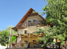 Hôtel Restaurant Le Martagon, Villars-Colmars (рядом с городом Beauvezer)