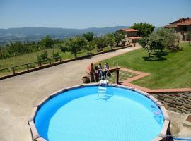 Villa Iris, Castelfranco di Sopra
