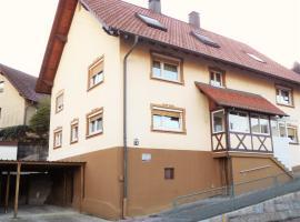 Ferienwohnung Kirchblick, Langenbrand (Weisenbach yakınında)
